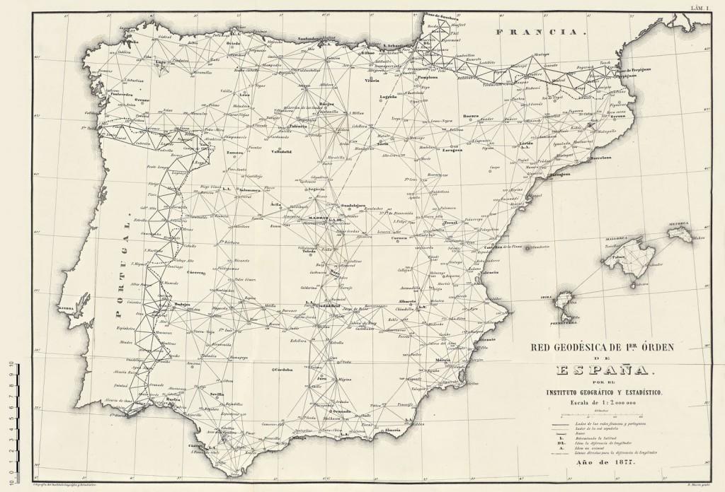 Red_Geodesica_Espana_en_1877